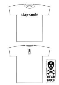 stay smile Tシャツ